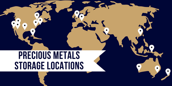 Precious Metals Storage Locations
