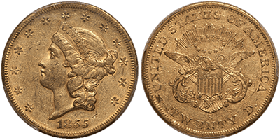 Type 1 San Francisco Liberty Double Eagle