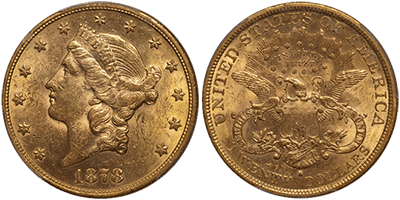 Type 3 San Francisco Liberty Double Eagle
