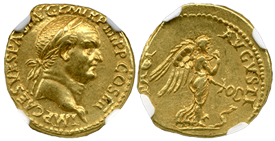 Vespasian Gold Aureus