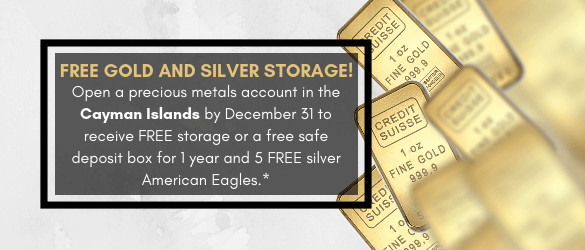 Free Gold and Silver Storage